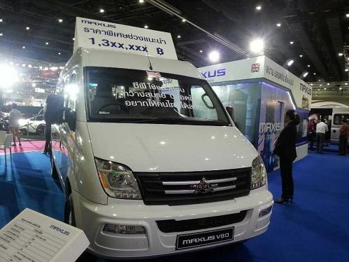 4s店 上海鼎汇汽车服务有限公司 全部资讯 > 上汽大通maxus v80在泰国