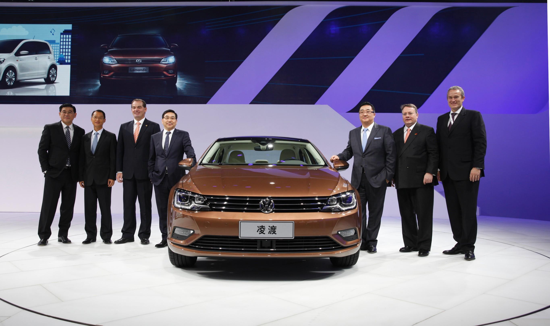本届广州车展上,上海大众汽车lamando凌渡正式开启预售,备受关注.